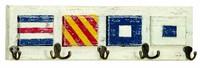 Nautical Flags Coat Hooks