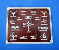 Nautical 15 x 12 Decoration Knotboard Display