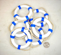 Small Blue Life Ring Preservers Buoys