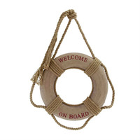 "16"" Welcome Onboard Life Preserver Ring Buoys"