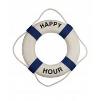 Blue White Happy Hour Life Buoys