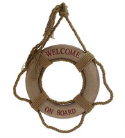 "22"" Welcome Onboard Life Ring Buoys"