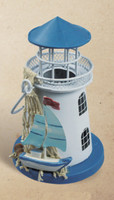 Lighthouse Tea Light Coastal Decorations