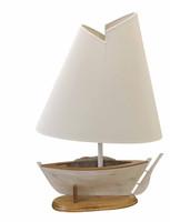 """21"""" Designer Sailboat Lamp"""