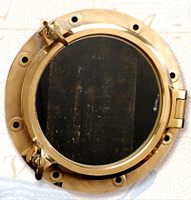Maritime Heavy Duty Working Brass Porthole