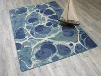 High Quality Deep Sea Coastal Rugs Shapes Sizes