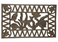 Outdoor Cast Iron Doormat For Less