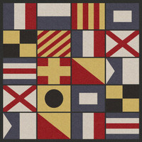 Signal Flag Rugs in Multiple Shapes / Sizes