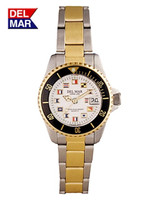 Women's Classic Flags Two Tone Watch