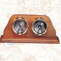 Nautical Captain Clock Barometer