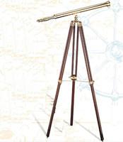 "38"" Brass Floor Telescopes"