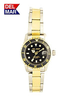 Women's Nautical Two Tone Dive Watch