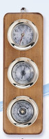 Nautical Brass Captain's Weather Station