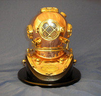 "10"" U.S. Navy Mark V Diving Helmet"