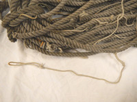 3/8 Used Rope by the Foot