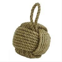 Rustic Sailors Knot Rope Doorstop