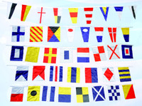 String Nautical Polyester Signal Flags Set 40