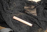 12 x 12 Tight Pattern Dark Brown Herring Fish Net