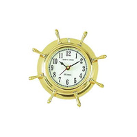 Nautical Ships Wheel clock