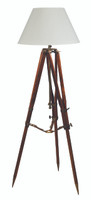 Campaign Nautical Tripod Floor Lamp