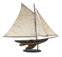 Newport Sloop Model Sailing Boat