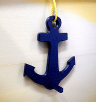 Navy Blue Indoor Outdoor Anchor Hook