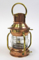 Nautical Bar Decor Copper Oil Ship Lamp