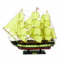"Tall Ship USS Constitution - 24"" Model Ship Replica"