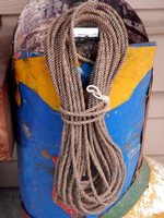 "1/4"" Nautical Decorating Hemp Rope"