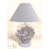 "14"" Shell Table Lamp"