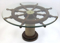 Ship Wheel Table For Sale