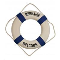 Mermaids Welcome Life Preservers