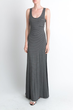 RACER BACK MAXI STRIPED