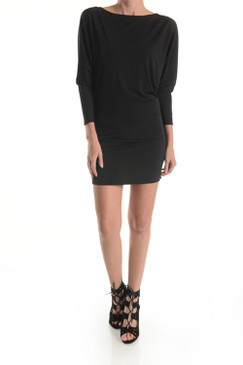 Double Lined Spandex long sleeve Tunic Dress