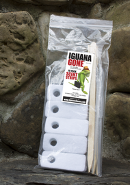 IGUANA GONE® Scent Strips, 10-pack Included free with each 16oz bottle purchase