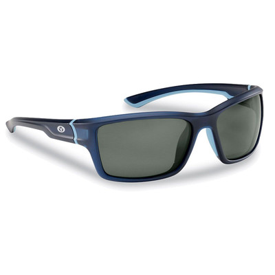 Lentes Flying Fisherman Cove Marco Matte Crystal Navy / Smoke