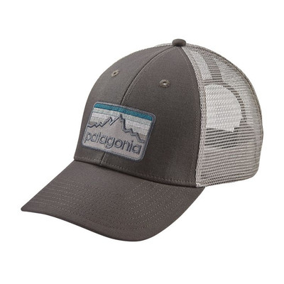 Patagonia Line Logo Badge LoPro Trucker Hat - Forge Grey (FGE)