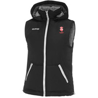 Errea LCFC Gilet Padded Sleevless Jacket from Andeas Carter Sports.