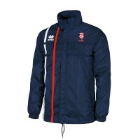 Lincoln City Kids Rain Jacket by Errea. Available now from Andreas Carter Sports.