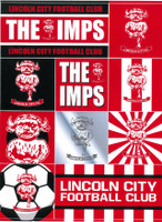 Lincoln City Sticker sheet by . Available now from Andreas Carter Sports.