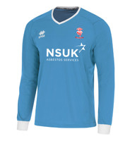 Lincoln City, Goalkeeper Home Shirt 2018/19 (White Logo) by Errea. Available now from Andreas Carter Sports.