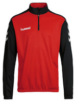 hummel, Core Half Zip Sweat by hummel. Available now from Andreas Carter Sports.