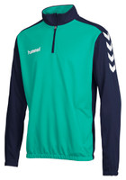 hummel, Core Half Zip Sweat Kid by hummel. Available now from Andreas Carter Sports.