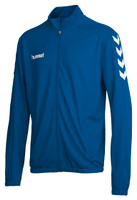 hummel, Core Poly Tracksuit by hummel. Available now from Andreas Carter Sports.