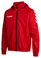 hummel, Core Spray Jacket Kid by hummel. Available now from Andreas Carter Sports.