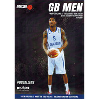 Gb Basketball Gb Men V New Zealand July 2015 Programme by British Basketball. Available now from Andreas Carter Sports.
