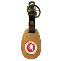 Welling United Wooden Keyring by Ascar. Available now from Andreas Carter Sports.