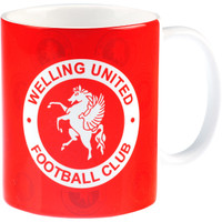 Welling United Mug Red by Heritage. Available now from Andreas Carter Sports.