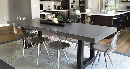 Trueform Concrete Countertops Sinks Vanities Tables And More