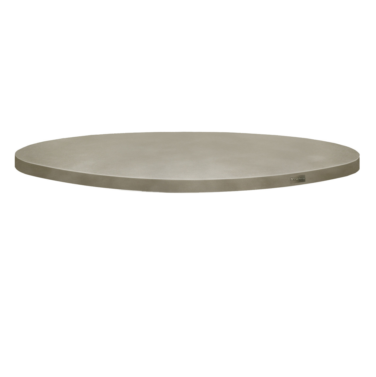 Charmant Trueform Round Concrete Table Tops Is Perfect For The Dining, Living, Or  Conference Room